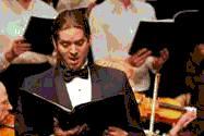 Bass soloist in Haydn's Nelson Mass, Nelson School of Music 2005