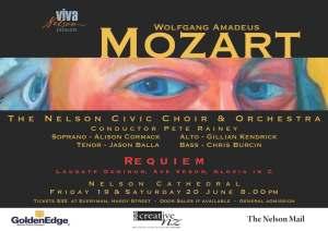 Mozart requiem poster