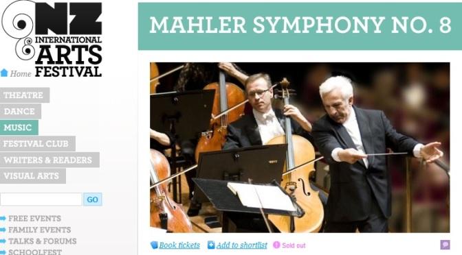 Mahler Symphony #8